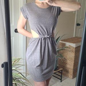 Aerie☆Short Sleeved Cutout Dress